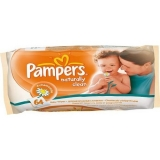 Салфетки влажные PAMPERS Naturally Clean 64 шт.